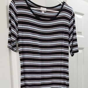 Lularoe Julia 2 way stripes dress